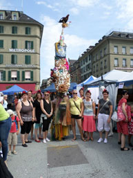 Festivals in Bern, Schweiz, August 2015